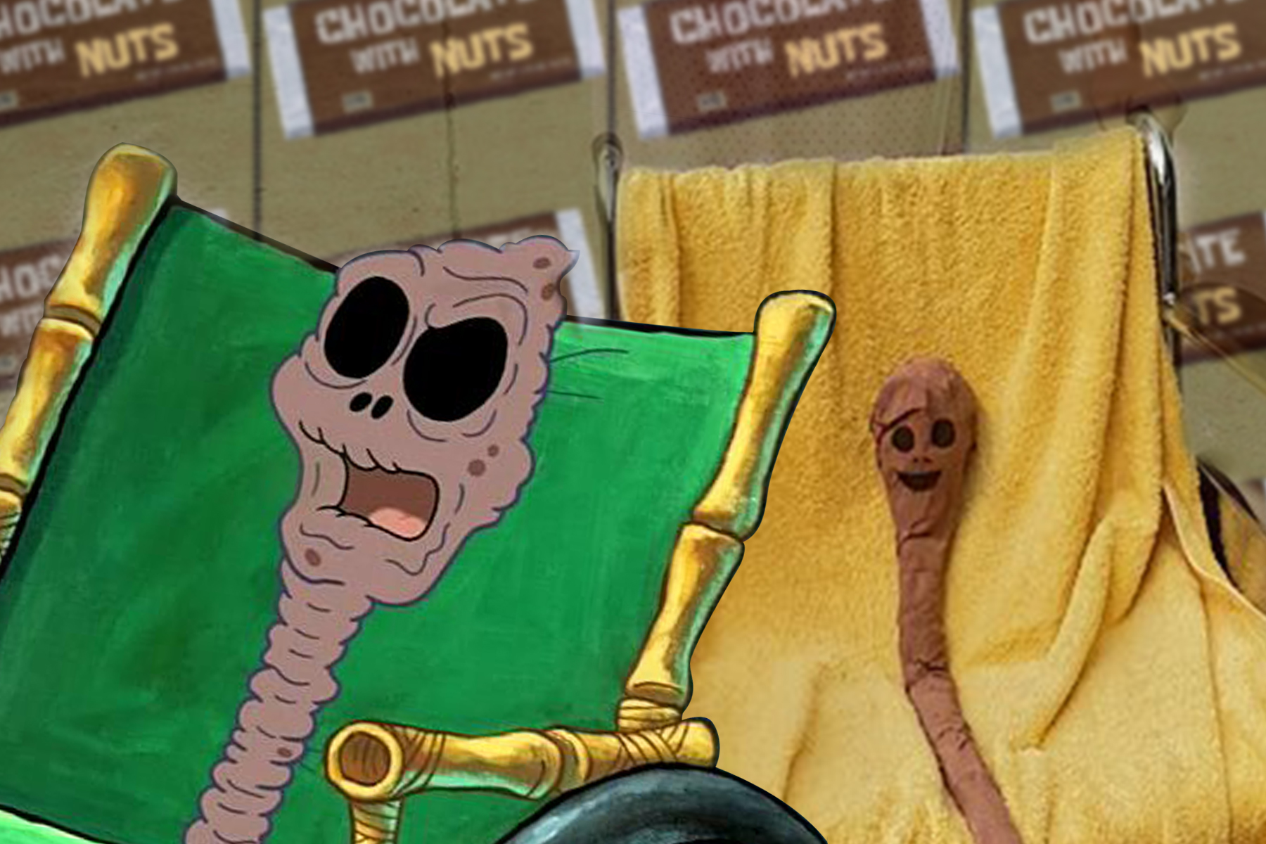 the best halloween costume goes to the chocolate lola from spongebob